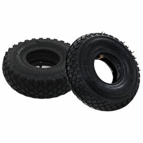 vidaXL 2 dekk og 2 indre slanger 3,00-4 260x85 for sekketralle gummihjul
