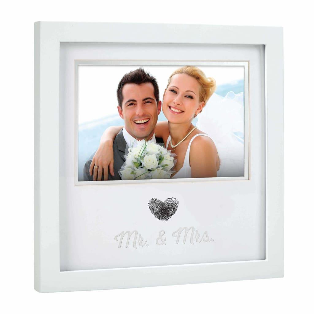 Pearhead Ramme for bryllupsbilde med fingeravtrykk