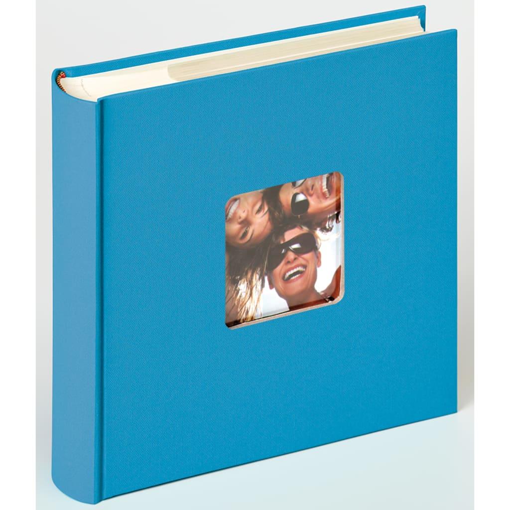 Walther Design Fotoalbum Fun Memo 10x15 cm havblå 200 bilder