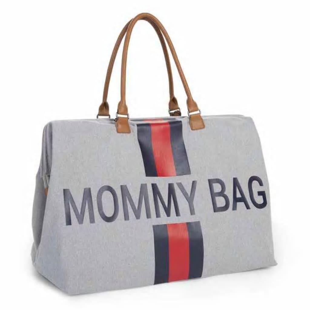 CHILDHOME Bleieveske Mommy Bag grå lerret