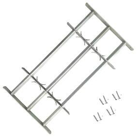 vidaXL Vindusgitter justerbart 700-1050 mm
