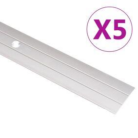 vidaXL Gulvprofiler 5 stk aluminium 134 cm gull