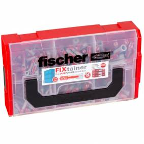 Fischer Veggplugger FIXtainer DUOPOWER 210 stk