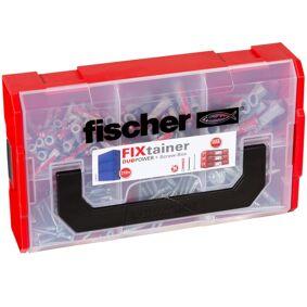 Fischer Veggplugger med skruesett FIXtainer DUOPOWER 210 stk