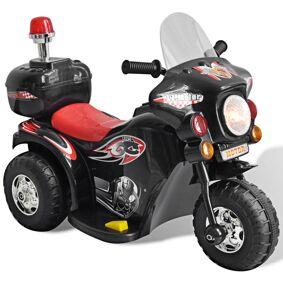 vidaXL Batteridrevet Motorsykkel for Barn Svart
