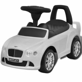 vidaXL Hvit Bentley Pedaldrevet Barnebil