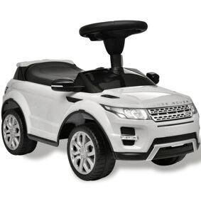 vidaXL Hvit Land Rover 348 lekebil med musikkspiller