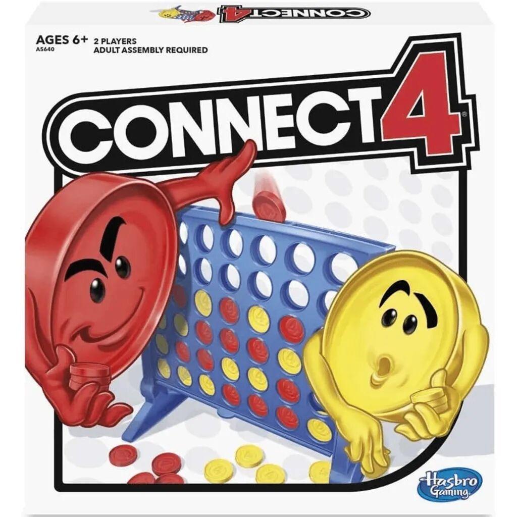 Hasbro Fire på Rad, Brettspill for 2 spillere