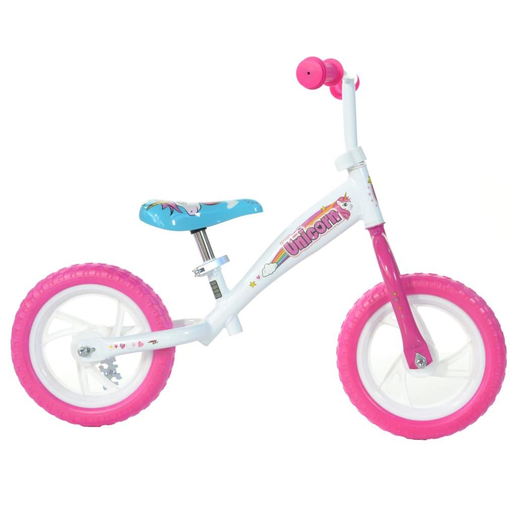 "Dino Bikes Balansesykkel Unicorn rosa 10"""