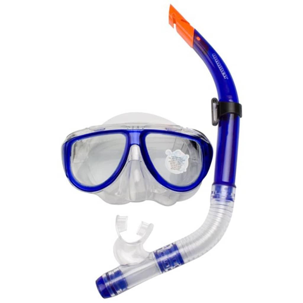 Waimea Senior Dykkermaske med snorkel koboltblå 88DI