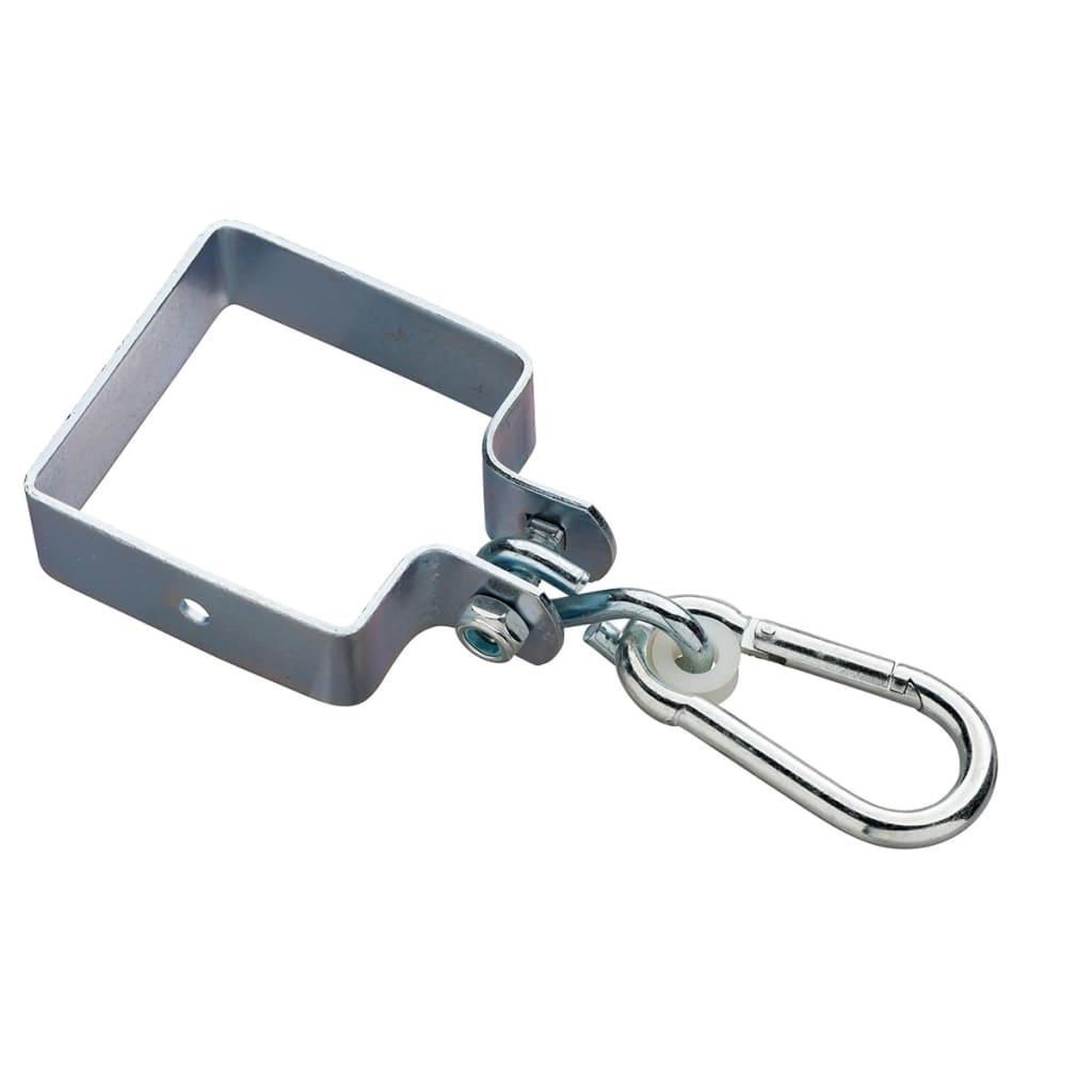 Swing King Huskekrok firkantet 90 x 90 x 3 mm sinkbelagt 2520029