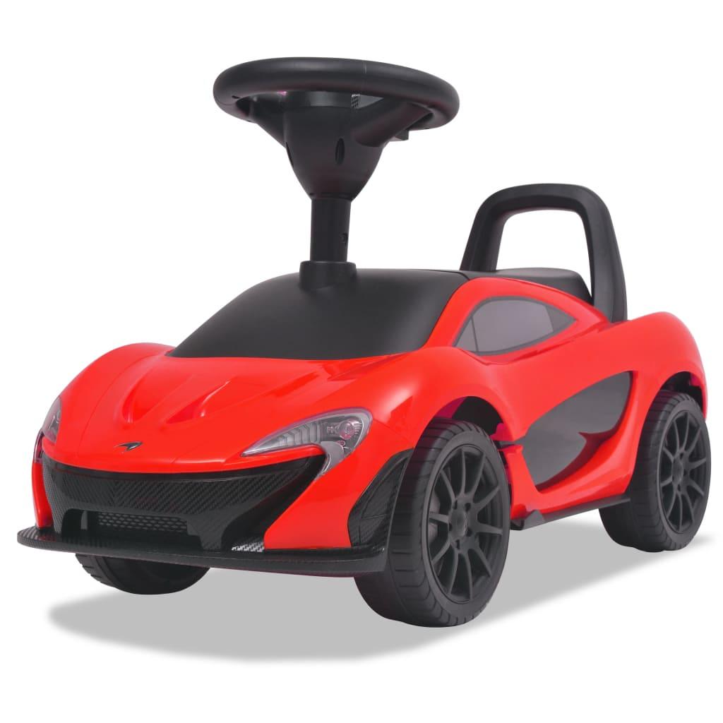 vidaXL Gåbil McLaren P1 rød