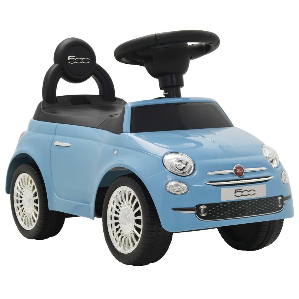 vidaXL Gåbil Fiat 500 blå