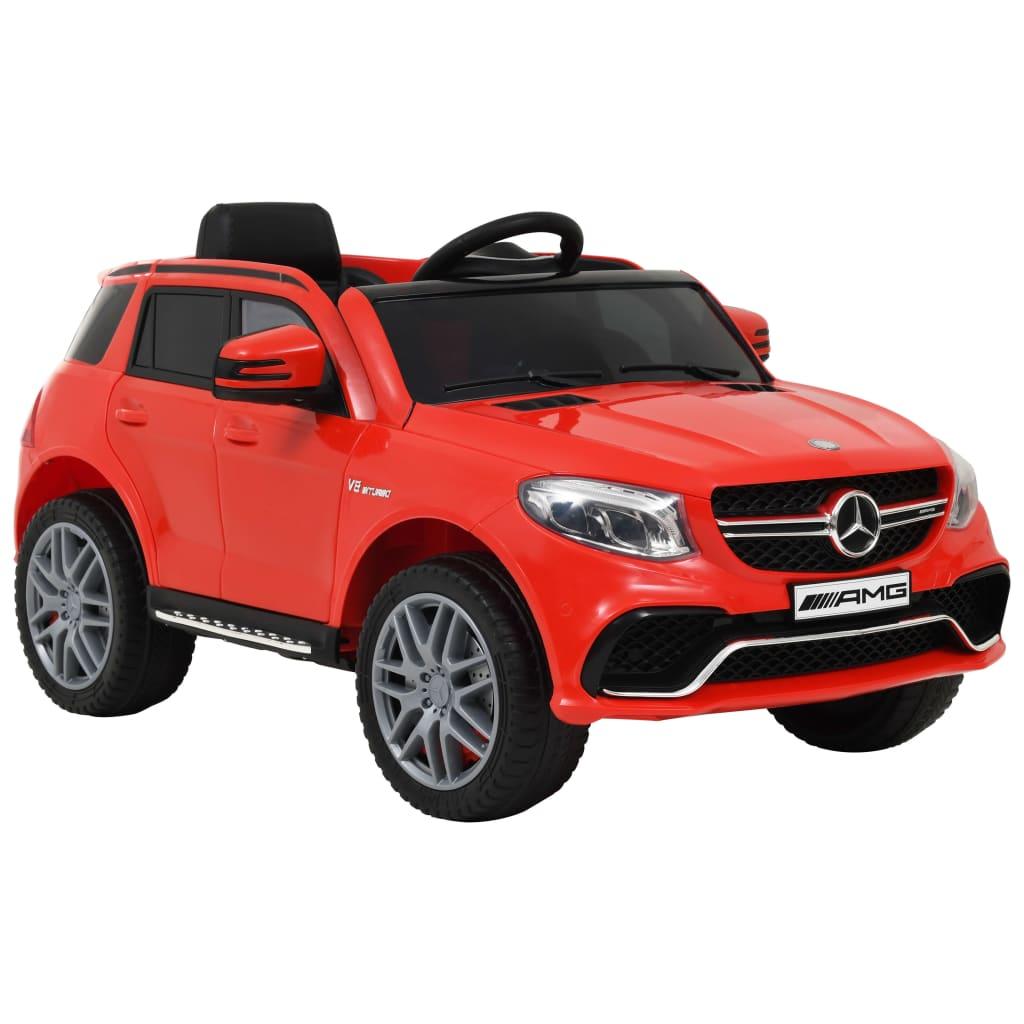 vidaXL Elektrisk barnebil Mercedes Benz GLE63S plast rød
