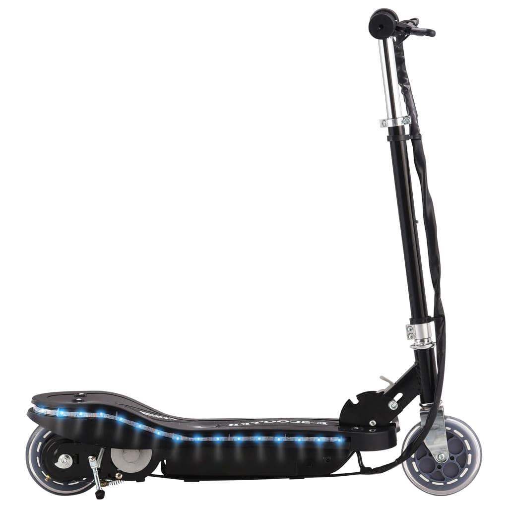 vidaXL Elektrisk sparkesykkel med LED 120 W svart
