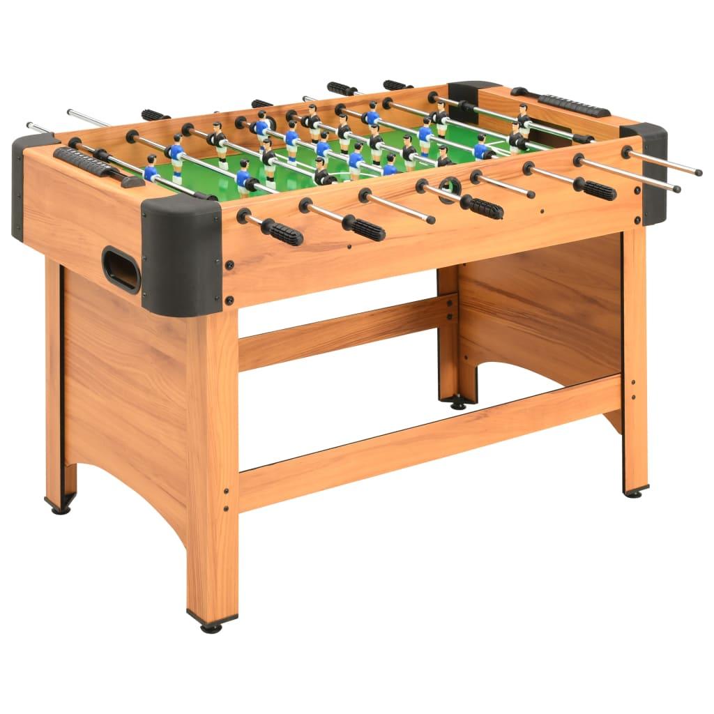 vidaXL Fotballbord 118x95x79 cm lønnetre