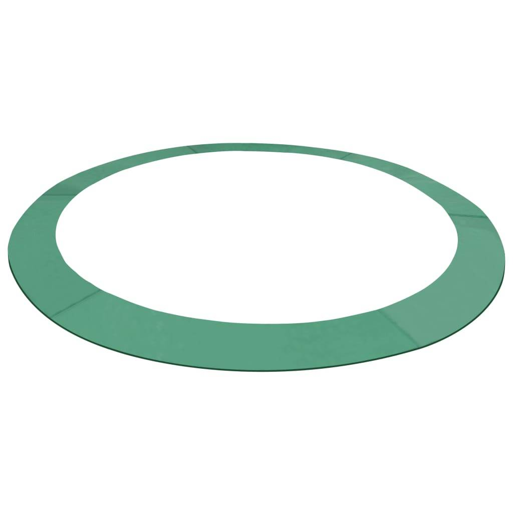 vidaXL Sikkerhetsmatte PE grønn 3,05 m rund trampoline