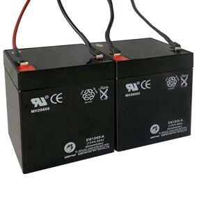 vidaXL Reservebatterier til elektriske scootere 2 stk 12V 4,5Ah