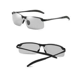 INF Polariserende solbriller med fargeskiftende glass UV400 - svart