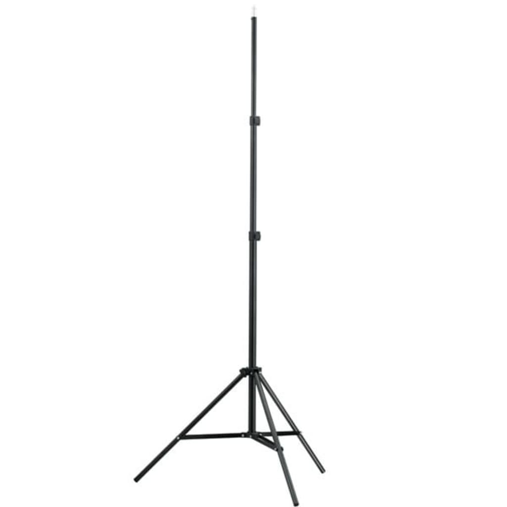 vidaXL Lysstativ høyde 78-210 cm