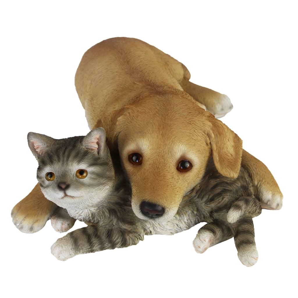 Esschert Design Hund og katt liggende 30,5x40,8x12,5cm