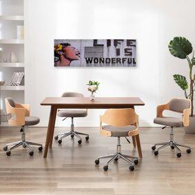 vidaXL Lerretsbilde Wonderful flerfarget 120x40 cm