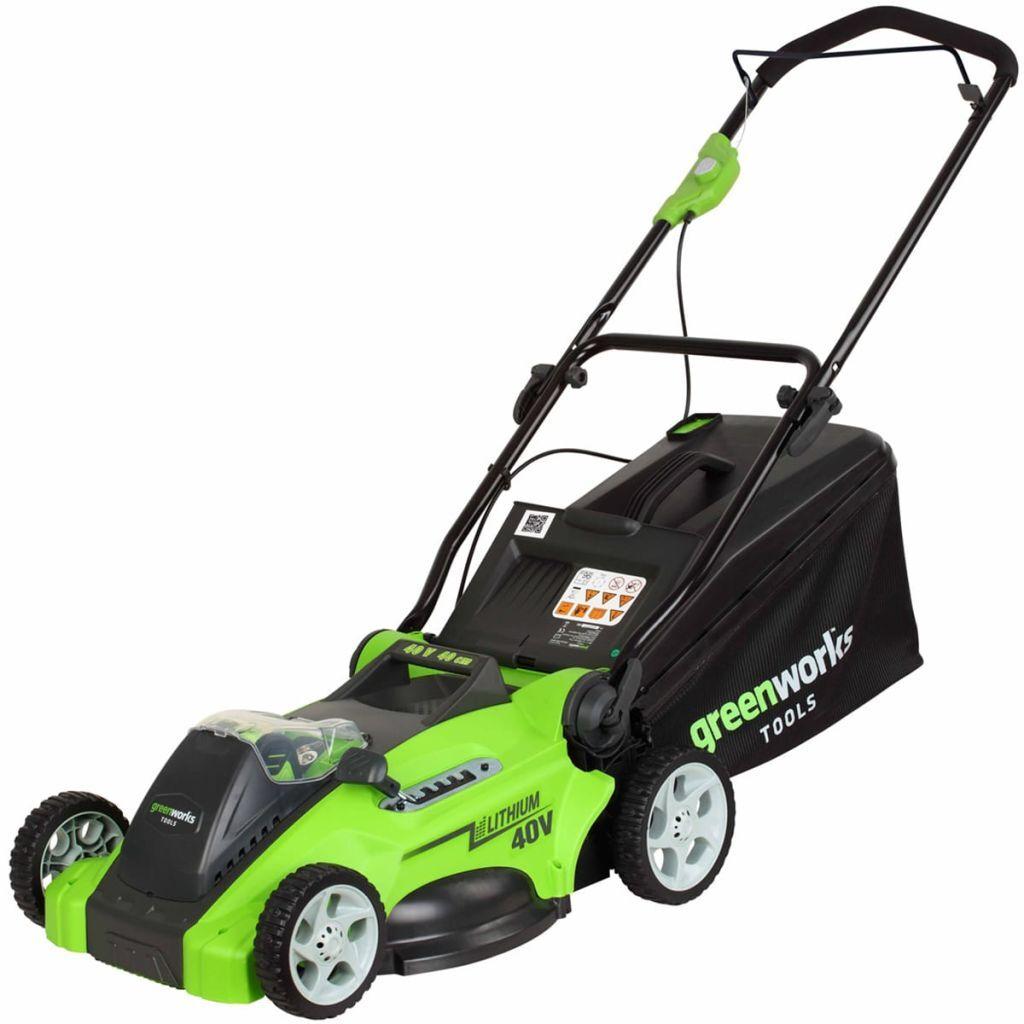 Greenworks Gressklipper uten 40 V batteri G40LM41 41 cm 2504707