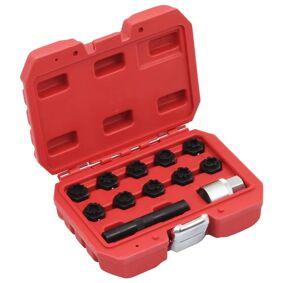 vidaXL Pipesett for låsebolter i 12 deler for Mercedes