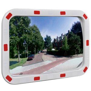 vidaXL Trafikkspeil firkantet 40 x 60 cm med reflekser
