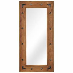 vidaXL Speil heltre akasie 50x110 cm