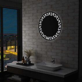 vidaXL LED-speil til bad 70 cm