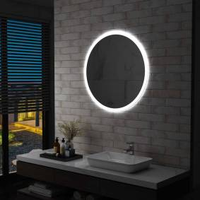 vidaXL LED-speil til bad 80 cm