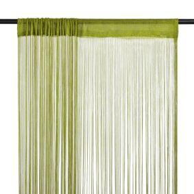 vidaXL Trådgardiner 2 stk 100x250 cm grønn