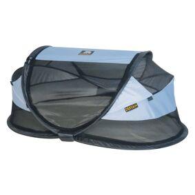 DERYAN Popup-reiseseng Baby Luxe med myggnett blå