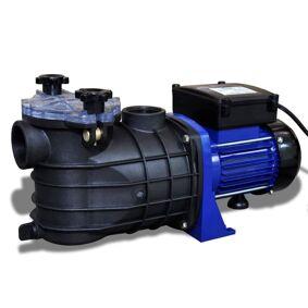 vidaXL Elektrisk Pumpe til Svømmebaseng 500W - Blå