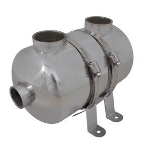 vidaXL Basseng Varmeveksler 292 x 134 mm 28 kW