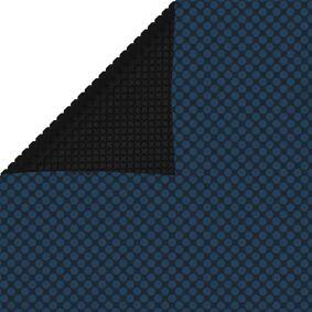 vidaXL Flytende solarduk til basseng PE 600x300 cm svart og blå