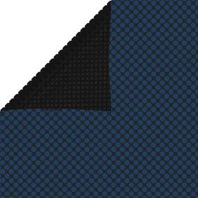 vidaXL Flytende solarduk til basseng PE 500x300 cm svart og blå