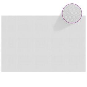 vidaXL Flytende solarduk til basseng PE 300x200 cm grå