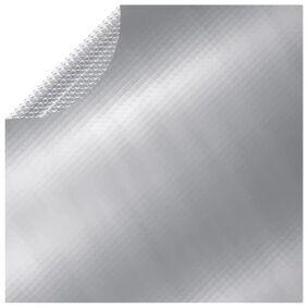 vidaXL Bassengtrekk sølv 549 cm PE