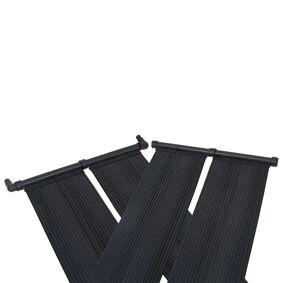 vidaXL Soldrevet bassengvarmer 4 paneler 80x310 cm
