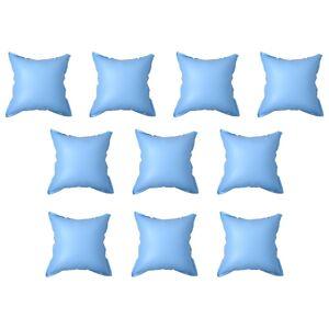 vidaXL Oppblåsbare puter for bassengtrekk 10 stk PVC