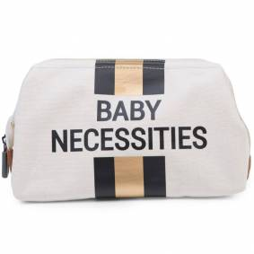 CHILDHOME Toalettmappe Baby Necessities offwhite