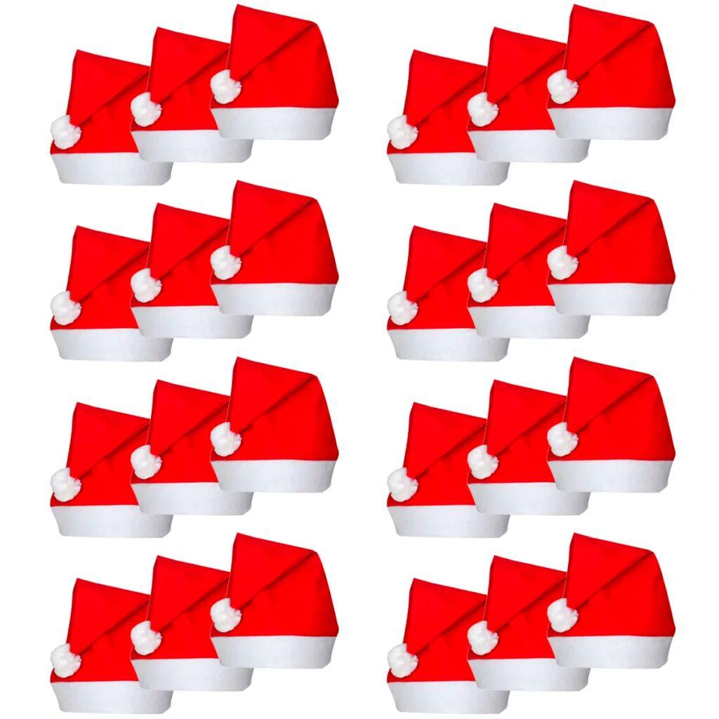 vidaXL Sett med 24 julenisseluer