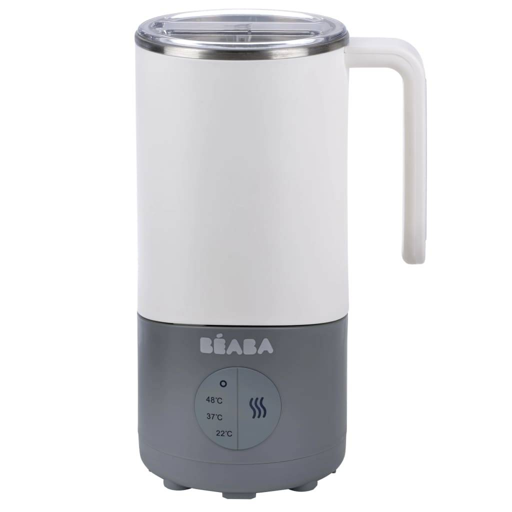 Beaba Babymelkvarmer Milk Prep 450 ml hvit og grå