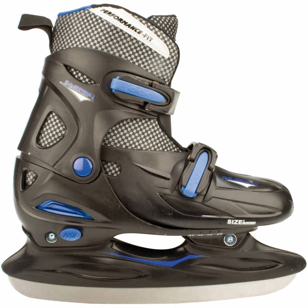 Nijdam Ishockeyskøyter størrelse 30-33 3024-ZWB-30-33