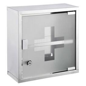 HI Medisinskap 30x12x30 cm rustfritt stål