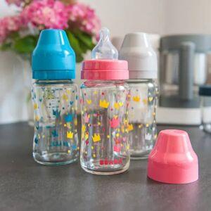 Beaba Babyflaske med vid åpning 3 stk 240 ml glass