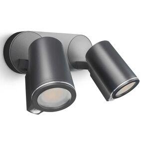 Steinel Utendørs sensorspotlys Spot Duo Sensor Connect svart