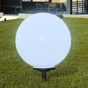 vidaXL Utendørs Solar Lampe med LED lykt med solenergi